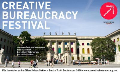 Creative Bureaucracy Festival in Berlin